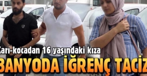 Samsun'da Iraklı çiftten 16 yaşındaki çocuğa cinsel taciz!