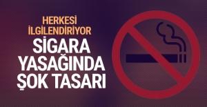 Sigara yasağıyla ilgili bomba tasarı! Herkesi ilgilendiriyor