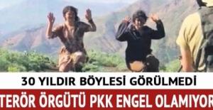 Terör örgütü PKK engel olamıyor!...