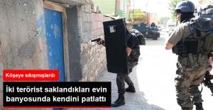 Tunceli'de Sıkıştırılan 2 Terörist, Saklandıkları Ev de kendini patlattı