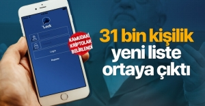 31 bin kişilik yeni ByLock listesi belirlendi
