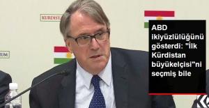 """ABD İkiyüzlülüğünü Konuşturdu: """"İlk Kürdistan Büyükelçisi""""ni Seçmiş Bile"""