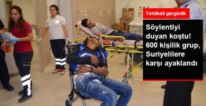 Antalya'da Toplanan 600 Kişilik Grup, Suriyelilere Saldırmak İstedi