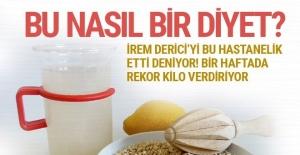 Arpa suyu diyeti nedir İrem Derici'yi hızlı zayıflatan şok diyet