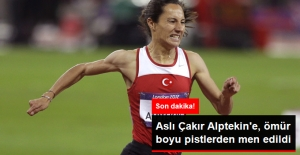Aslı Çakır'a, Ömür Boyu Men Cezası