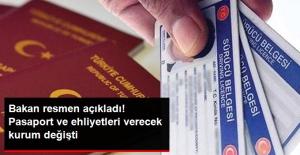 Bakan Soylu: Pasaport ve Ehliyeti Nüfus Daireleri Verecek