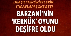 Barzani DEAŞ'lı teröristleri Kerkük'teki kumpas operasyonu için kullanacak