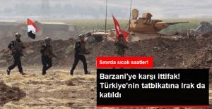 Barzani'ye Karşı İttifak! Türkiye'nin Tatbikatına Iraklı Askerler de Katıldı