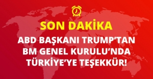 BM Genel Kurulu'nda Konuşan Trump'tan Türkiye'ye Teşekkür