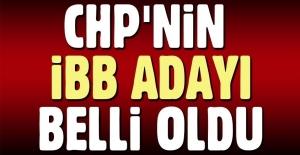 CHP'nin İBB adayı Ekrem İmamoğlu oldu