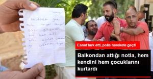 """""""Eşim Gazı Açtı, Hepimizi Öldürecek"""" Yazılı Not Aileyi Kurtardı"""