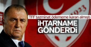 Fatih Terim'den TFF'ye ihtarname
