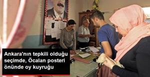 Federasyon Hedefleyen Kürtler Sandık Başında! Öcalan Posterinin Önünde Oy Kuyruğu