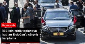 İBB Başkanlığı İçin İstişare Toplantısına Katılan Erdoğan'ı İstifa Eden Topbaş Karşıladı