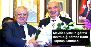 Kadir Topbaş Devir Teslim Törenine Katılmadı! Yeni Başkan, Mührü Vekilinden Aldı!