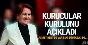 Meral Akşener#039;in yol arkadaşları...