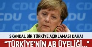 Merkel#039;den son dakika Türkiye...