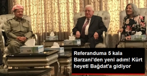 Referanduma 5 Gün Kala Barzani'den Yeni Adım! Kürt Heyeti Bağdat'a Gidiyor