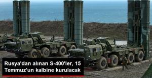 Rusya'dan Alınan S-400'ler Akıncı Üssüne Kurulacak