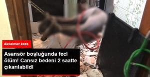 Sarıyer'de Asansör Boşluğuyla Kabin Arasında Sıkışan İşçi Feci Şekilde Can Verdi