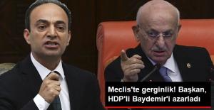 TBMM'de Gergin Anlar! Meclis Başkanı, Osman Baydemir'i Azarladı