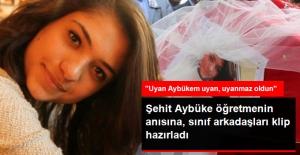 Terör Kurbanı Aybüke Öğretmenin Anısına Sınıf Arkadaşlarından Yürek Yakan Bir Klip