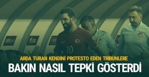 Arda Turan protestolara bakın nasıl tepki gösterdi