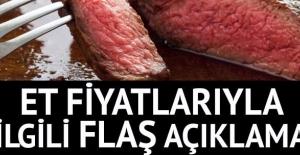 Bakan'dan et fiyatlarıyla ilgili çok önemli açıklama