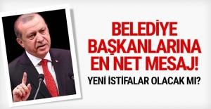 Belediye başkanları görevden mi alınıyor? Erdoğan'dan net mesaj!