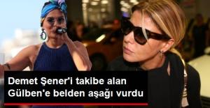 Demet Akalın, Demet Şener'i Takibe Alan Gülben Ergen'i Kocasıyla Vurdu