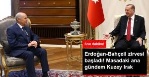Erdoğan-Bahçeli Görüşmesi Sona Erdi! Masada Kuzey Irak Vardı
