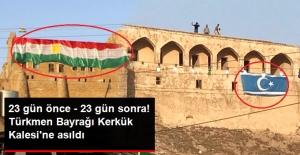 Irak Ordusu Kerkük'e Girdi, Kaleye Türkmen Bayrağı Çekildi