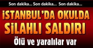 İstanbul Pendik'te okulda dehşet!