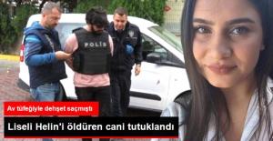 Pendik'te 17 Yaşındaki Helin'i Öldürüp İki Öğrenciyi Yaralayan Zanlı Tutuklandı