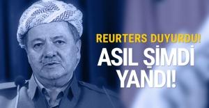 Reuters duyurdu! Barzani asıl şimdi yandı