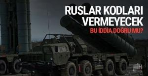 Ruslar füzelerin kodlarını vermeyecek...