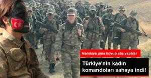 Türkiye'nin Kadın Komandoları Eğitime Başladı! Namluya Bozuk Para Koyup Atış Yaptılar