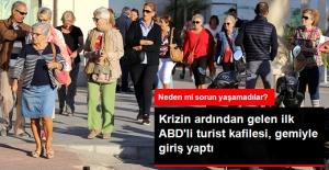 Vize Krizinden Sonra Gelen İlk Amerikalı Turist Kafilesi, Türkiye'ye Giriş Yaptı
