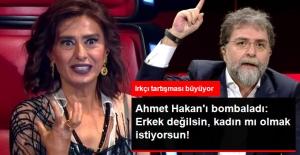 Yıldız Tilbe Ahmet Hakan'a Ateş Püskürdü: Erkek Değilsin, Kadın mı Olmak İstiyorsun