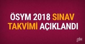2018 YKS sınav ve sonuç tarihi belli oldu