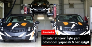 5 Babayiğit Kolları Sıvadı! Yerli Otomobil İçin İmzalar Atılıyor