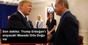 ABD Başkanı Trump Tweet Attı: Erdoğan ile Telefonla Görüşeceğim