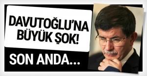 Ahmet Davutoğlu'na büyük şok! Son anda iptal edildi