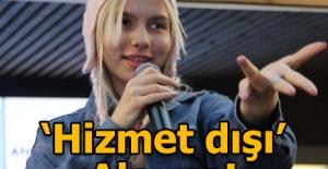 Bursa'da Aleyna Tilki izdihamı
