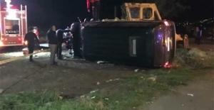 Erdoğan'ın koruma ekibi kaza yaptı: Yaralılar var!