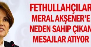 Fethullahçılar Meral Akşener'e neden sahip çıkan mesajlar atıyor