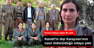 Kırmızı Listedeki Kadın Terörist, Yer Değiştirince İHA'lar Tarafından Tespit Edilip Öldürülmüş