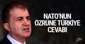 NATO'nun özrüne Türkiye'den cevap