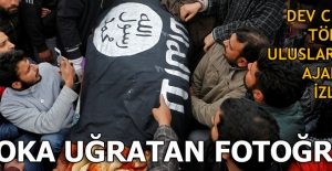 Son dakika... Cenazede IŞİD bayrağı!...
