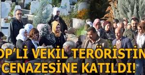 Son dakika: HDP'li vekil terörist cenazesine...